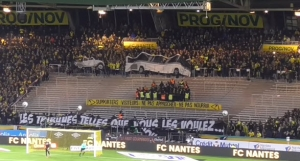 "[Nantes] Action nationale ""Supporters ≠ Criminels"""